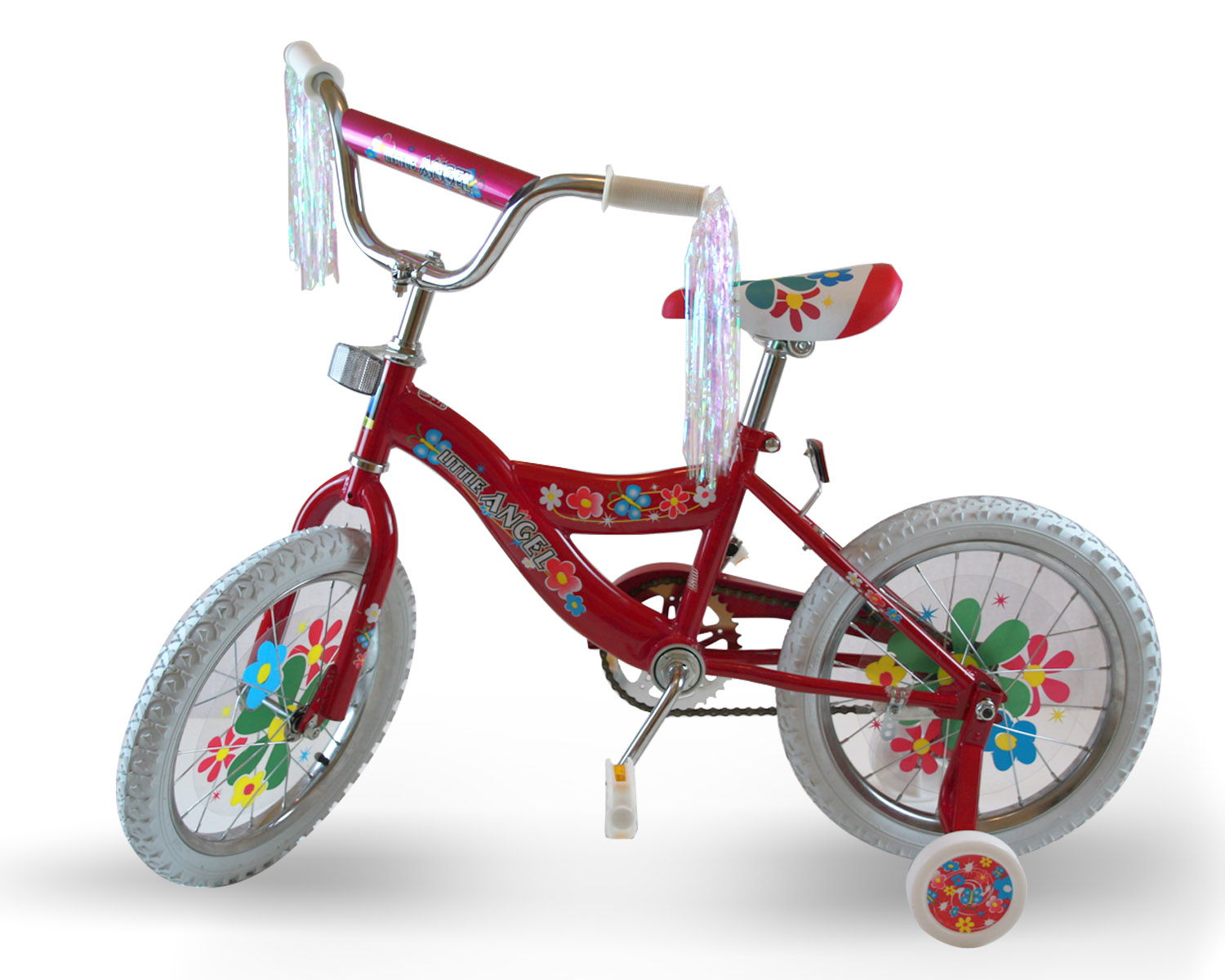 Little Angel Flower 16 inches Girls Bike (Pink) at Sears.com